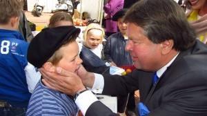 met Commissaris van de Koning van Drenthe Jacques Tichelaar