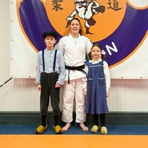 met Europees Judokampioen Kim Polling